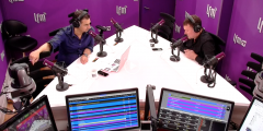 Announcement of OPIS's founding on Swiss radio